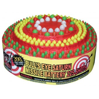 Bull's Eye Saturn Missile Battery 225 shots